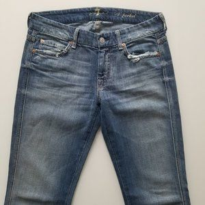 NEW 7 For All Mankind Jeans A Pocket Flare Jeans